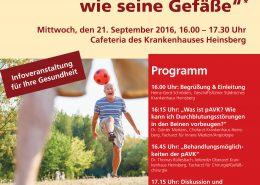 Plakat Gefäßtag 2016