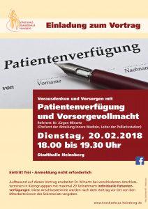 Plakat_Patientenverfügung_2018